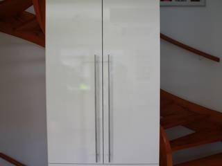 schrankwerk.de Corredor, hall e escadasCómodas e estantes Branco