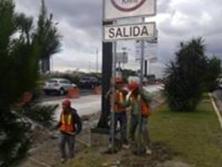 Entronque Vial Periférico-Atlixco-Puebla Casas industriales de Printemps Industrial