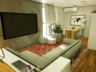 LOFT - CASAL Salas de estar modernas por MQ Design Interiores Moderno