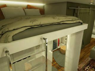 Спальни в . Автор – MQ Design Interiores, Модерн