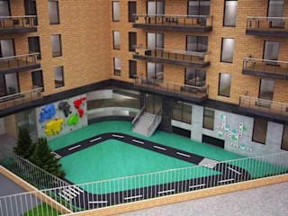 Escuelas de estilo moderno de Schaffen Amenities Private Limited Moderno