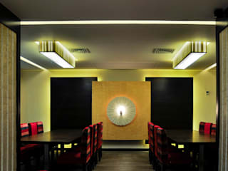 Barabati Stadium Restaurant, Cuttack (with Architekno) Moderne Gastronomie von Schaffen Amenities Private Limited Modern
