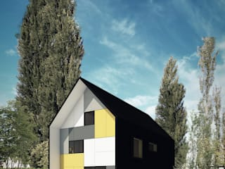 Vivienda Cabox: Casas de estilo  por BDB Arquitectura,Moderno