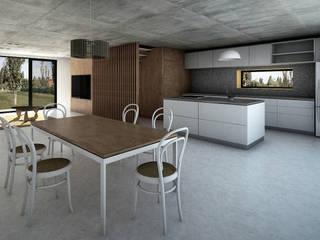 Vivienda Cabox: Comedores de estilo  por BDB Arquitectura,Minimalista