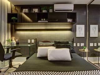 Suíte JB Quartos modernos por Dome arquitetura Moderno