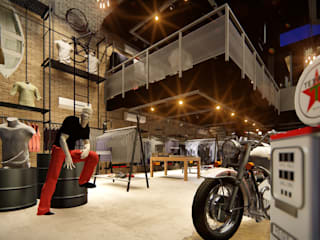 Loja Guerrier Campina Grande - PB: Lojas e imóveis comerciais  por Atemporal Arquitetura,Industrial