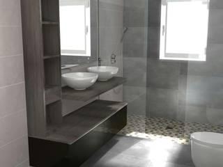 Proyecto Reforma Apartamento Puerto Banus: Baños de estilo  de DECORACIÓN E INTERIORISMO OBRASA