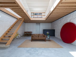 Salones minimalistas de a*l - alexandre loureiro arquitectos Minimalista