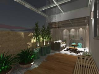 modern  by Raquel Siqueira Arquitetura, Modern