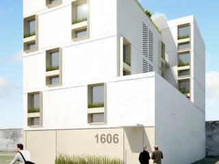 Edificio JM Casas minimalistas de HMJ Arquitectura Minimalista