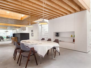 Comedores de estilo minimalista de a*l - alexandre loureiro arquitectos Minimalista