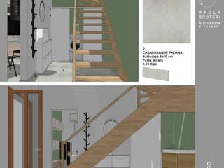 SOLUZIONE 1 - Ingresso: Ingresso & Corridoio in stile  di Paola Scuteri