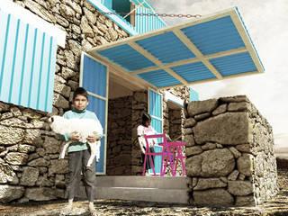 Casa UNO: Casas de estilo  por HMJ Arquitectura