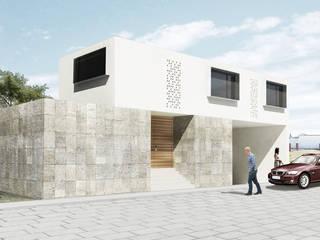 Casa Tecamachalco Casas minimalistas de HMJ Arquitectura Minimalista