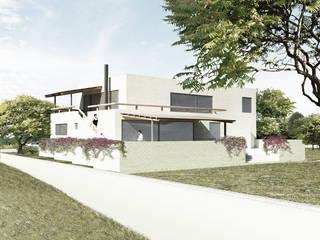 Casa Haras Casas minimalistas de HMJ Arquitectura Minimalista