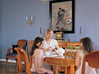 Гостиная квартиры в стиле русского ампира: Гостиная в . Автор – Станислав Старых