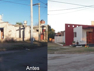 Casa Molina:  de estilo  por Arq. Gerardo Rodriguez