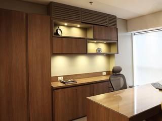 Escritório 37m2 Studio 262 - arquitetura interiores paisagismo Espaços comerciais modernos