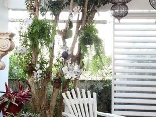 Área gourmet Residência Alphaville Tamboré 3 Studio 262 - arquitetura interiores paisagismo Garagens e edículas tropicais