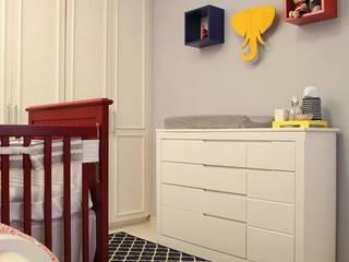 Quarto de Bebê Studio 262 - arquitetura interiores paisagismo Quarto infantil moderno