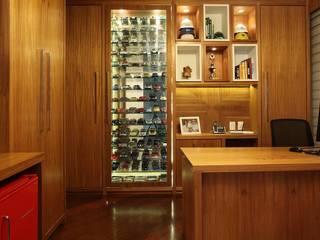 Escritório Residencia Alphaville Residencial 9: Escritórios  por Studio 262 - arquitetura interiores paisagismo