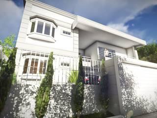 Residência Almany: Casas  por Atemporal Arquitetura,Clássico