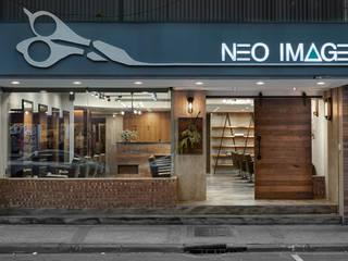Neo Image Hair Studio 根據 澄穆空間設計 工業風