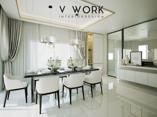KHUN GRACE RESIDENTIAL.:   by V WORK Interior Design
