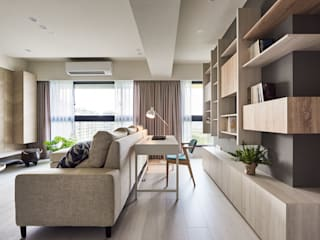 Minimalist study/office by 思維空間設計 Minimalist