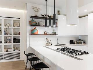 ArchEnjoy Studio 现代客厅設計點子、靈感 & 圖片