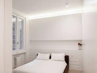 APPARTAMENTO PIAZZA BOLOGNA_ROMA Camera da letto moderna di ArchEnjoy Studio Moderno