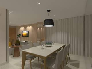 Apartamento Castelo por Raquel Siqueira Arquitetura Moderno