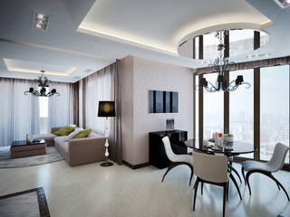 4-х комнатная квартира: Гостиная в . Автор – ArtVintage