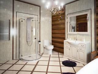 Загородный дом: Ванные комнаты в . Автор – ArtVintage