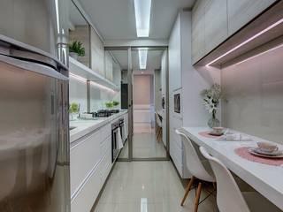 Cozinhas modernas por Dome arquitetura