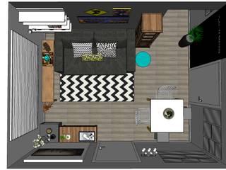 Sala Divertida por Ô Lá Em Casa | Home Decor Moderno