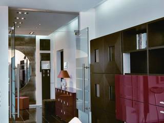 Квартира на ул. Климашкина Гостиная в стиле модерн от АрхХаусСтрой Модерн