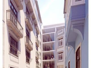 Casas de estilo minimalista de a*l - alexandre loureiro arquitectos Minimalista