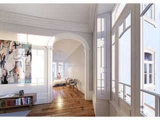 Dormitorios de estilo minimalista de a*l - alexandre loureiro arquitectos Minimalista