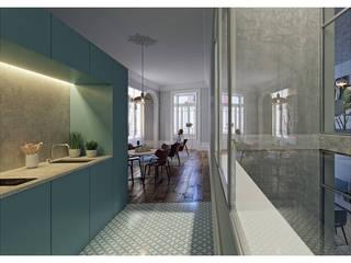 by a*l - alexandre loureiro arquitectos Minimalist
