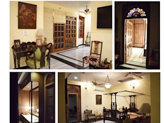 PROJECTS DELIVERED BY KOTRI Mediterranean style corridor, hallway and stairs by Devyani Kumari Lifestyle & Designs Mediterranean