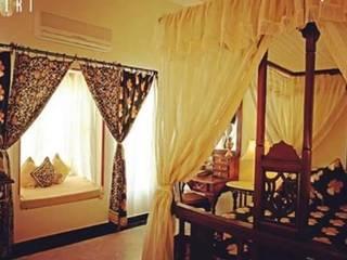 RUSTIC APPROACH Rustic style bedroom by Devyani Kumari Lifestyle & Designs Rustic