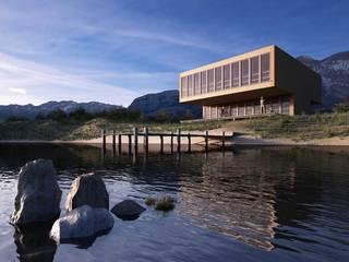 Casas minimalistas de a*l - alexandre loureiro arquitectos Minimalista