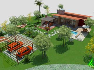 Casa da Serra Casas modernas por Arktectus Arquitetura Sustentável Moderno