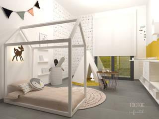 Dormitorios infantiles de estilo escandinavo por TocToc