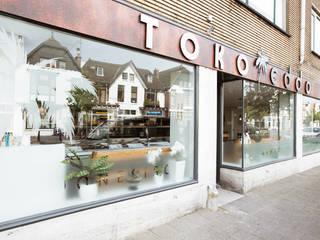 Nieuwe huisstijl en uitstraling voor de TOKO.:  Gastronomie door Ien Interieurontwerp Advies Projectbegeleiding