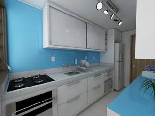 Cozinha: Cozinhas  por Débora Pagani Arquitetura de Interiores,Moderno