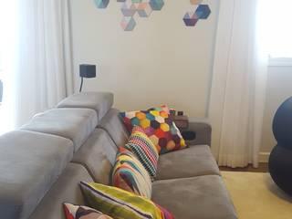 Bel e Tef Atelier da Reforma Modern living room