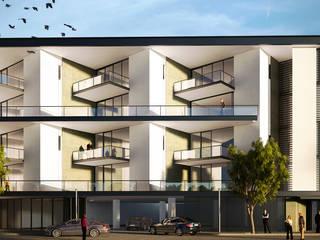 Departamentos Villa del Campestre:  de estilo  por  STVX Colectivo de Diseño