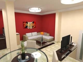 Quincho JB:  de estilo  por Gastón Blanco Arquitecto,Moderno